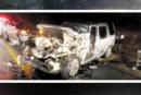Truck driver killed in horror crash