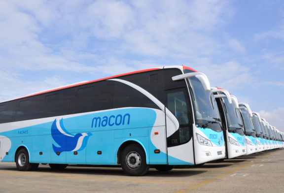 Angolan bus service here