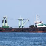 Angolan fishing trawler caught red handed causes shock