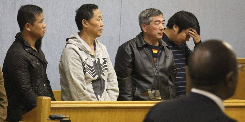 Chinese smugglers want lesser sentence
