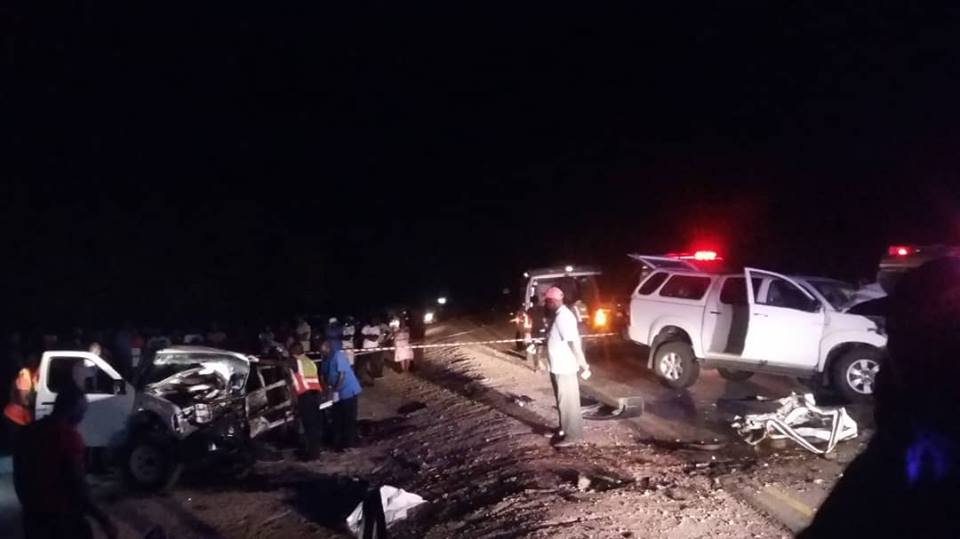 Head on collision claims two lives near Oshakati
