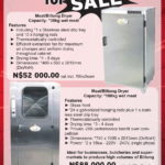 Meat & Biltong Dryer for sale
