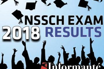 NSSCH Exam Results 2018