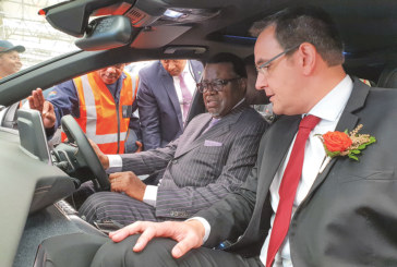 President inaugurates vehicle assembly plant