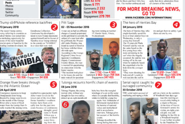 Top 10 Stories of 2018 on the Informanté Facebook page