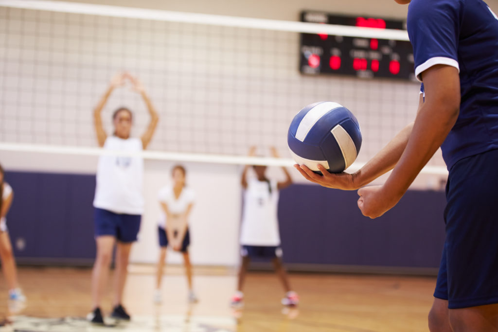 Volleyball excels at Region 5 Youth Games