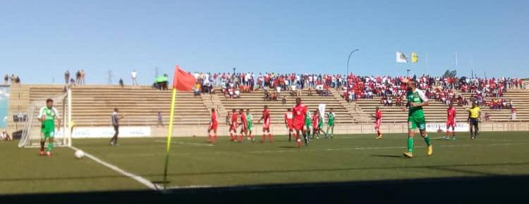 African Stars settle for draw against Raja Casablanca