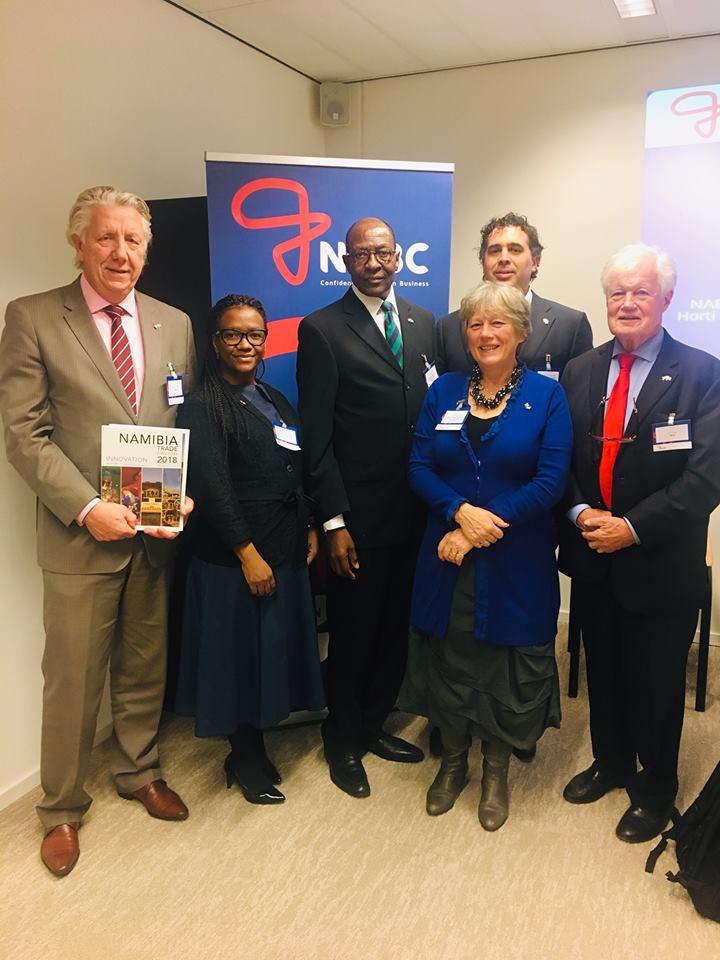 Ambassador invites Dutch business community to Namibia
