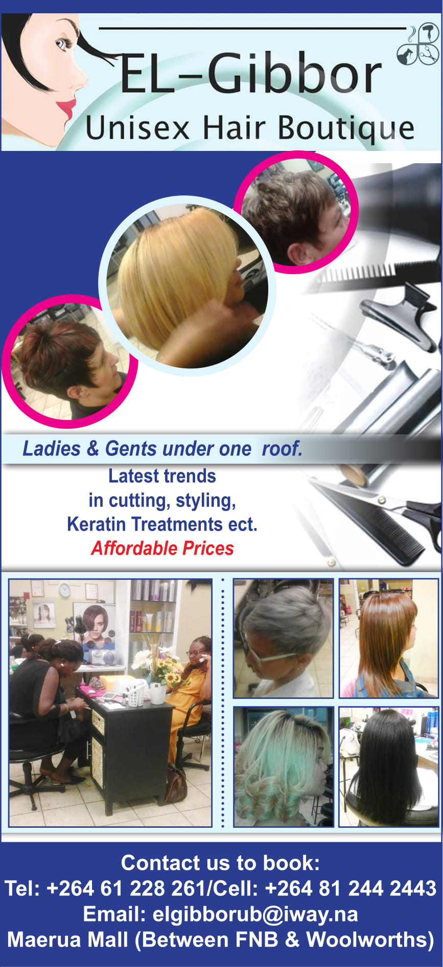 El-Gibbor Unisex Hair Studio