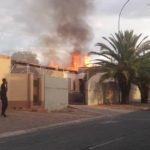 Fire destroys education minister's house