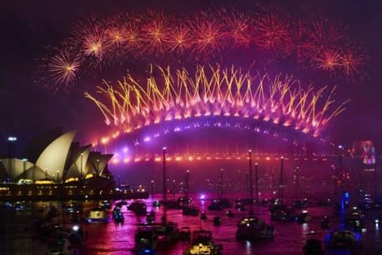 It's already New Year somewhere!