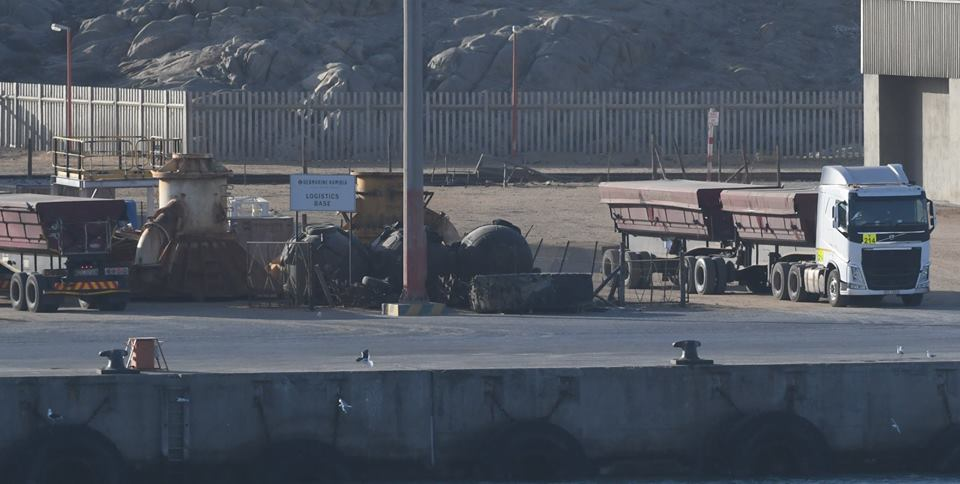 Manganese exports through port of Lüderitz temporarily put on hold