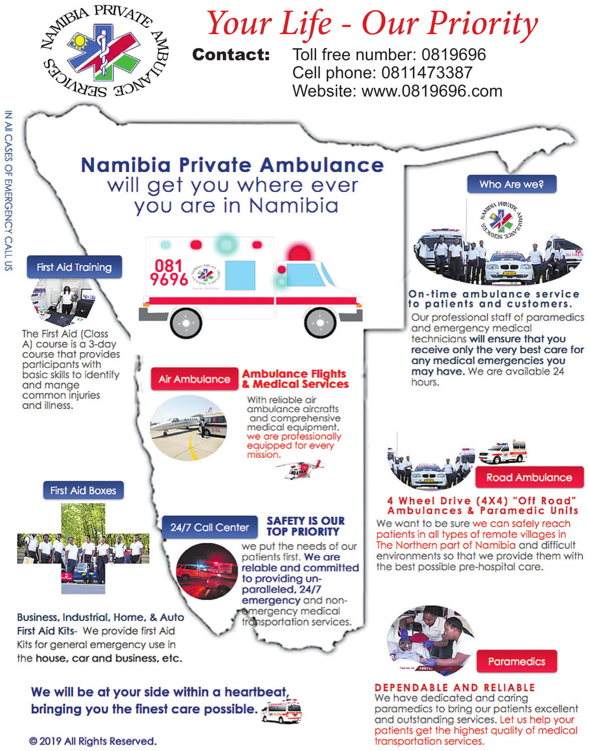 Namibia Private Ambulance Services
