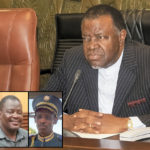Geingob flexes muscles