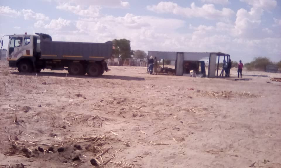Several shacks demolished at Oshakati