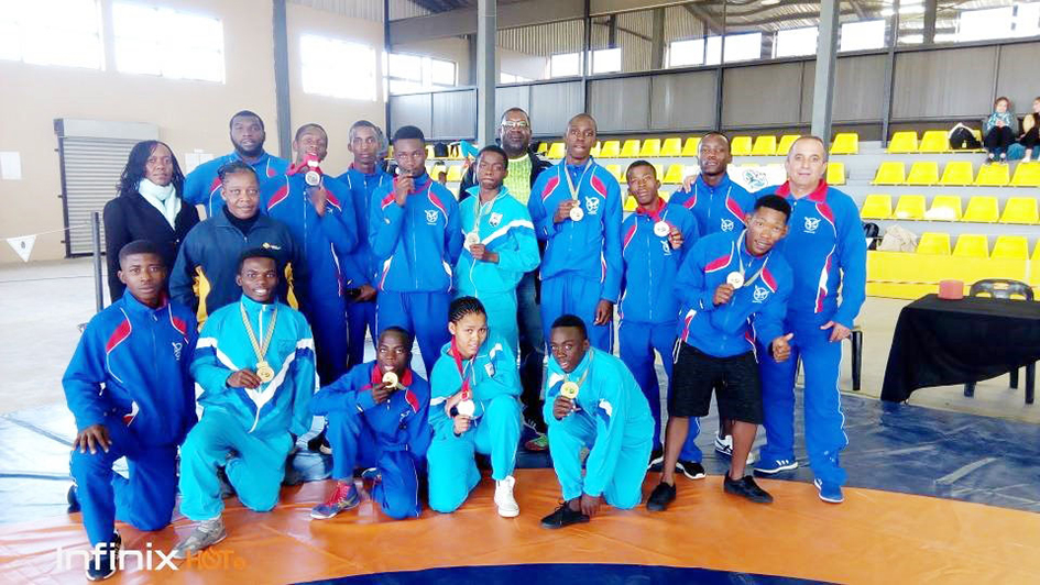 Wrestling team aiming for greatness