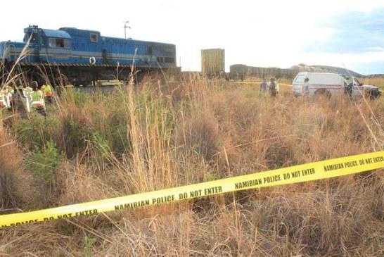 Woman hit by a train in Karibib