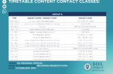 IOL Contact Classes