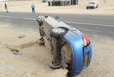 Driver arrested near accident scene