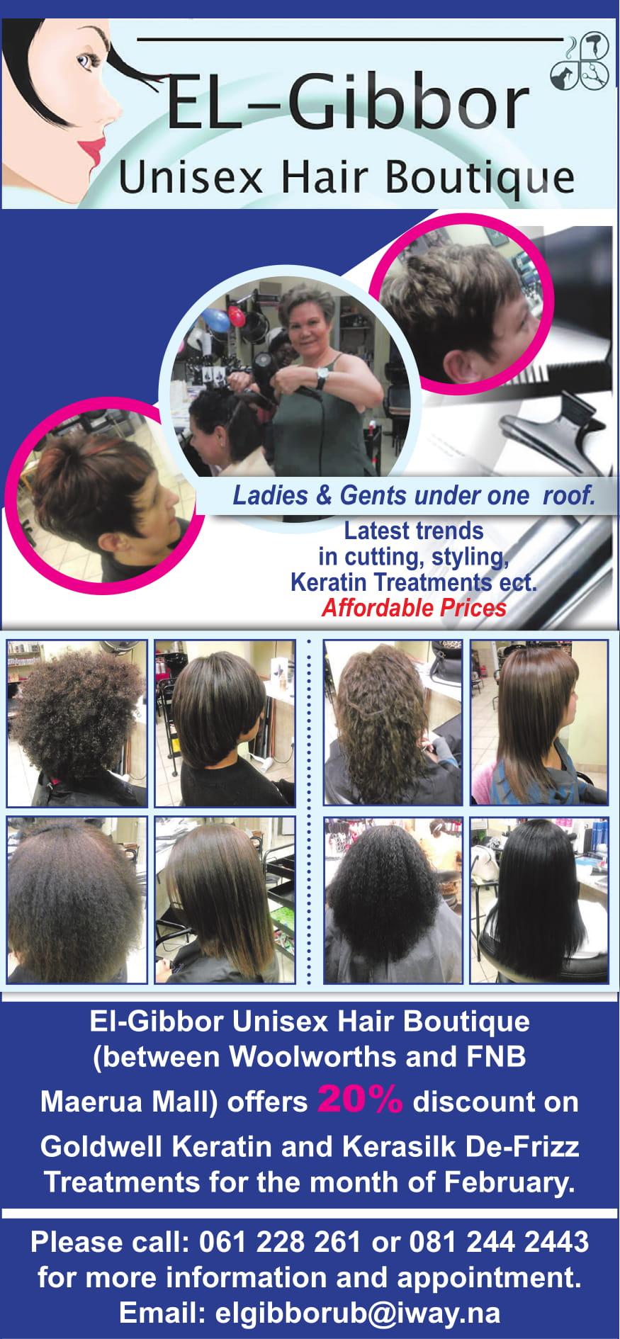 El-Gibbor Uni Sex Hair Boutique