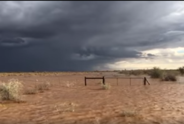 Heavy rains experienced over southern Namibia