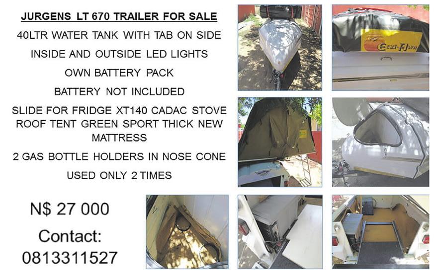 Jurgens Trailer For Sale