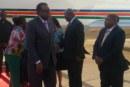 President Geingob arrives back home from Addis Ababa