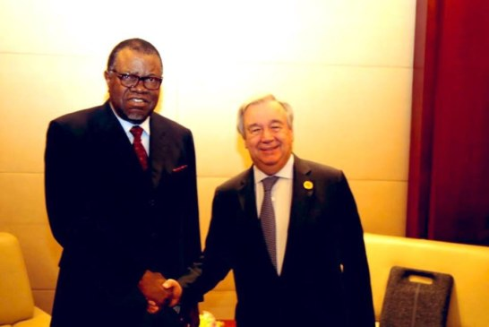President Geingob complimented for excellent leadership