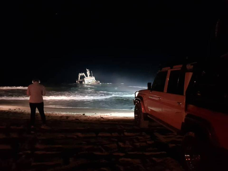 Rescue drama at the Zeila wreck