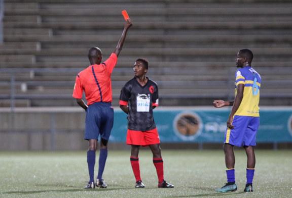 Black Africa suffers first league defeat