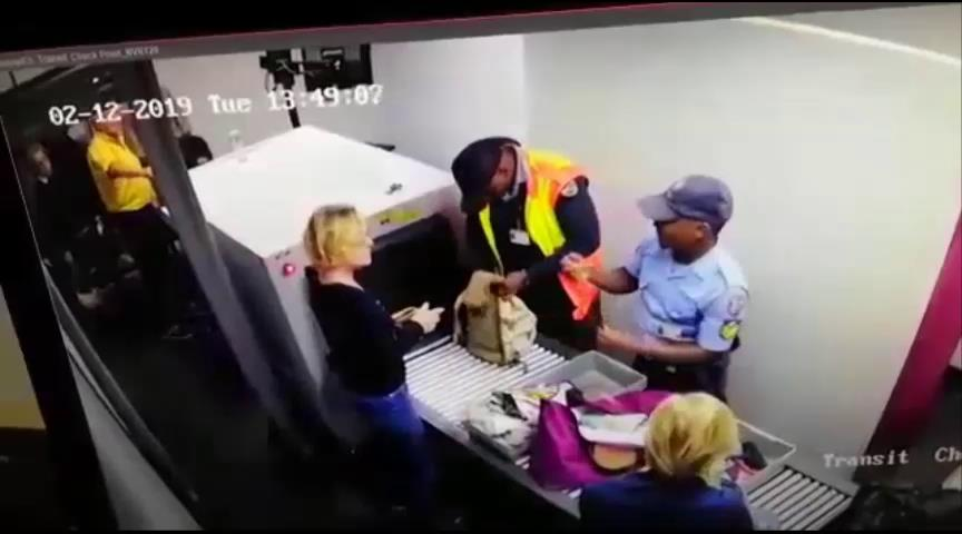 Thieving airport cop also a rape accused