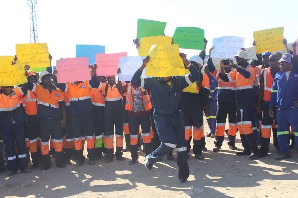 Tschudi Mine workers on strike again