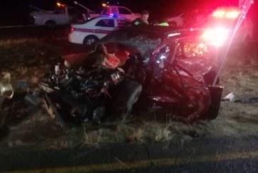 Two die in crash near Omeya