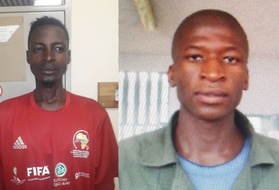 Two trial awaiting prisoners escape