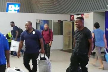 Brave Warriors received as heroes in Windhoek