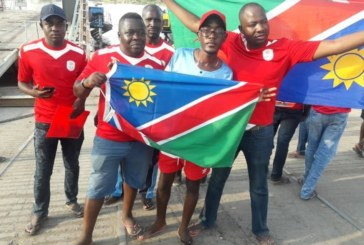Brave Warriors supporters arrive in Zambia