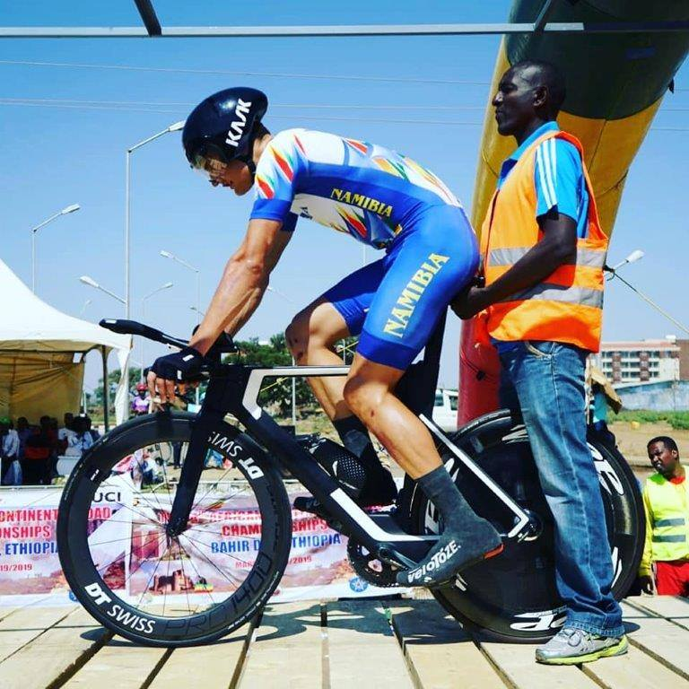 Coetzee gets fifth place at African Cycling Champs