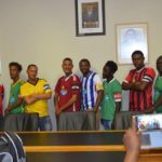 Harders Cup teams receive new kit
