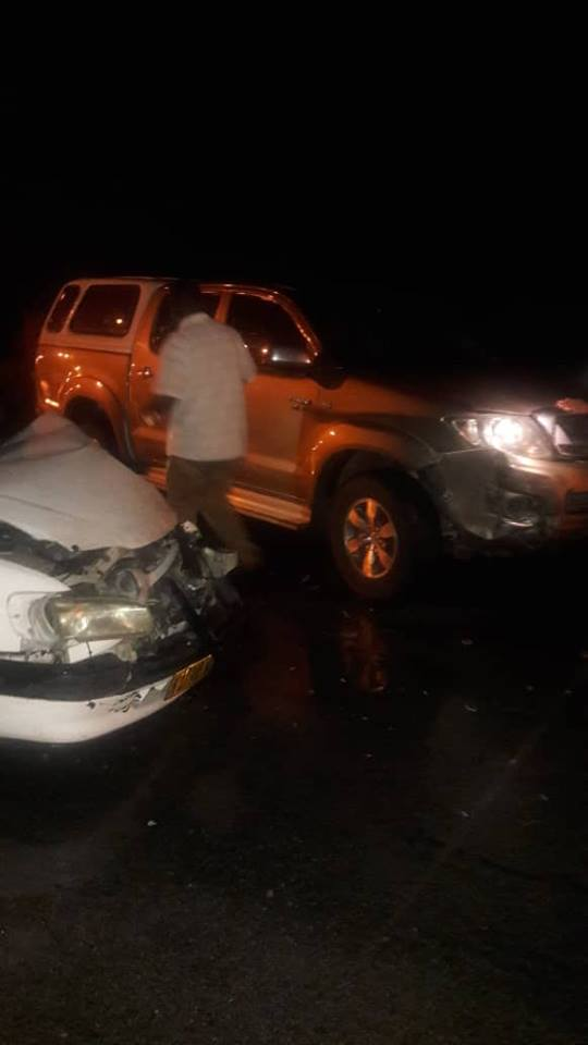Health minister involved in crash with government vehicle