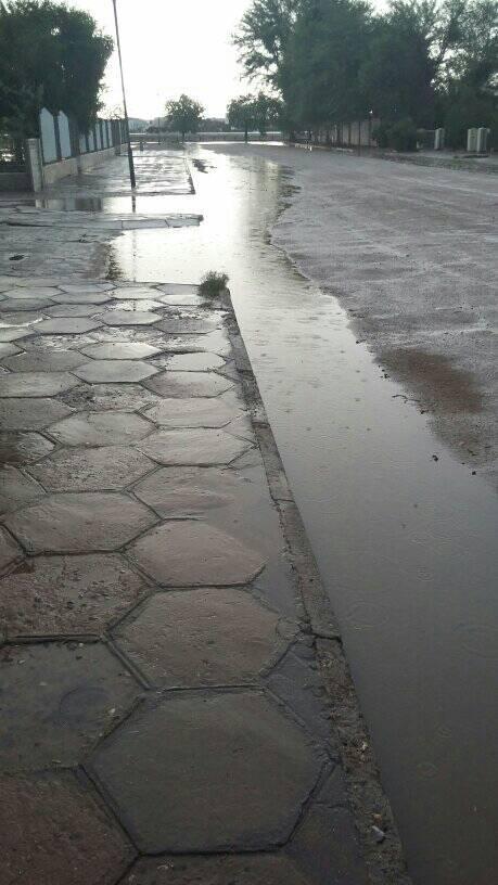 More welcome rain falls