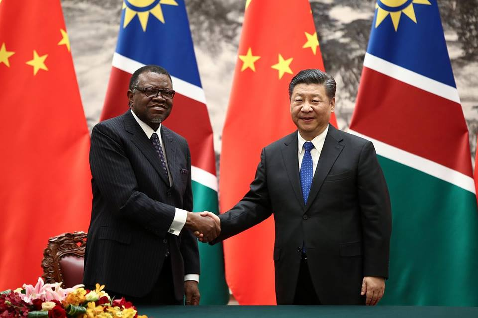 Namibia received N$2.8 billion from China