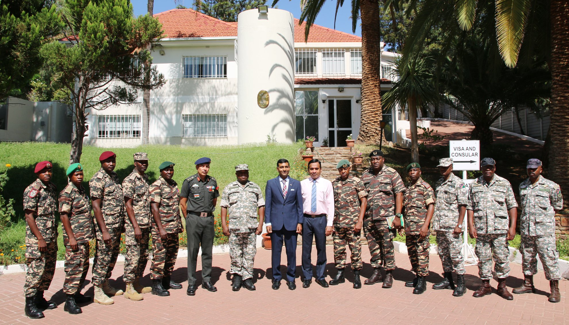 Namibian soldiers to receive training in India
