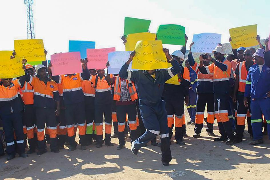 Tschudi Mine workers strike again