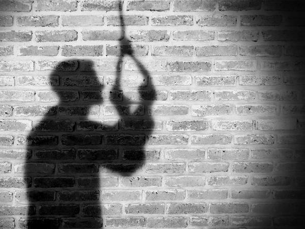Pensioner hangs himself