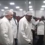President Kenyatta visits Namibia's flagship fish processing facility