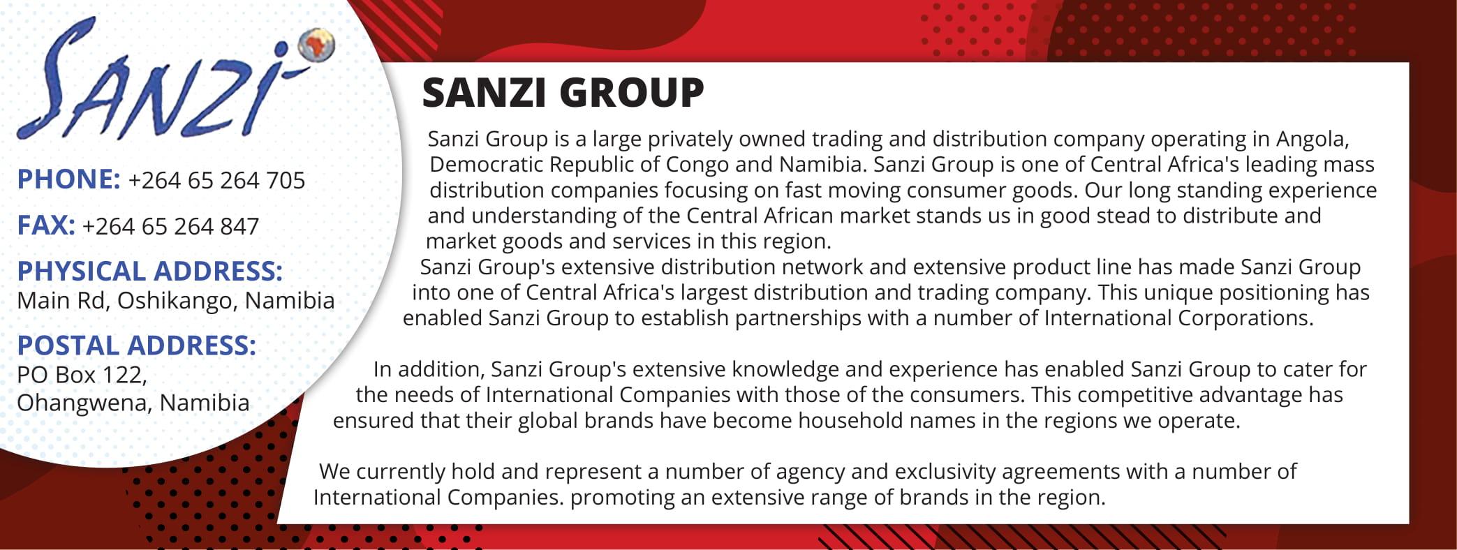 Sanzi Import & Export