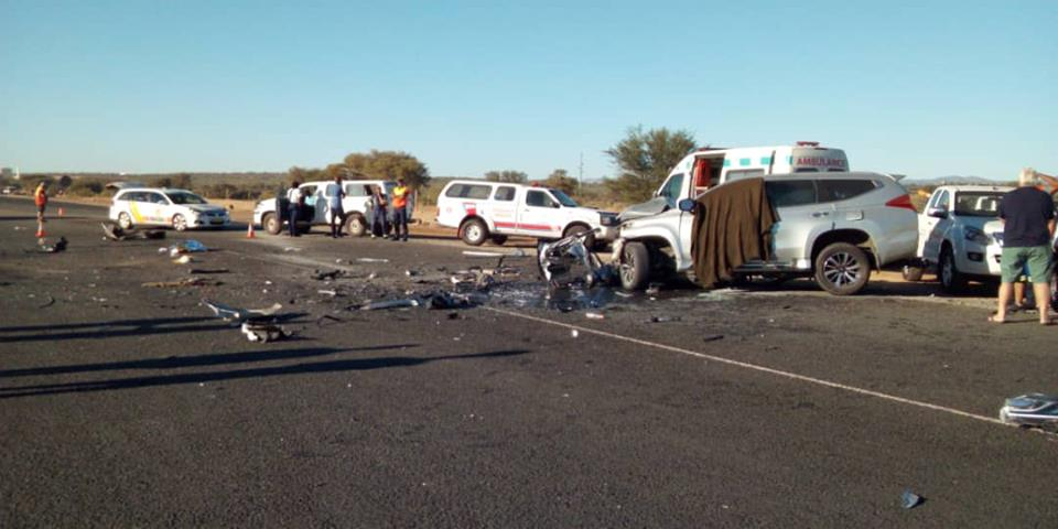 Six people killed in gruesome crash