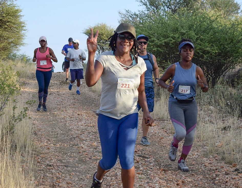 Bank Windhoek & Farm Windhoek Fitness readies trail runner tourney