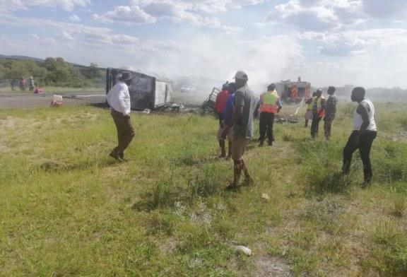 Thirteen killed in horrific crash near Otavi