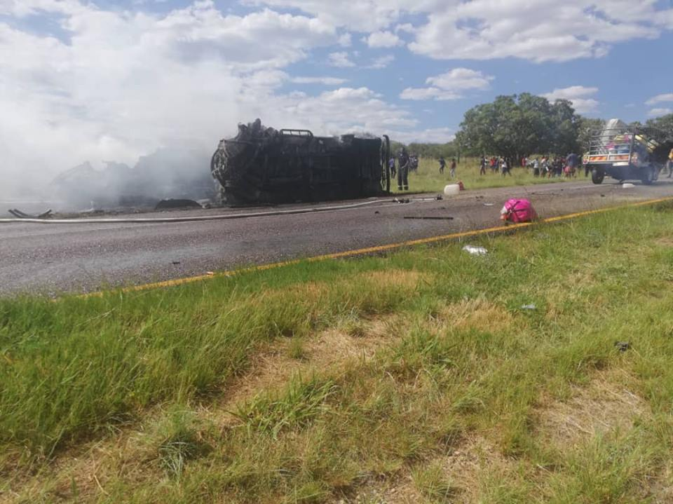 Thirteen killed in horrific crash near Otavi
